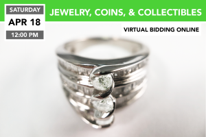 Jewelry, Coins, & Collectables Auction 4-18-2020