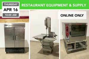 RESTAURANT EQUIPMENT & SUPPLY 4-16-2020