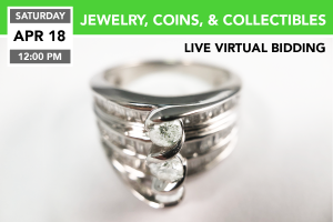 Jewelry, Coins, & Collectibles 4-18-2020