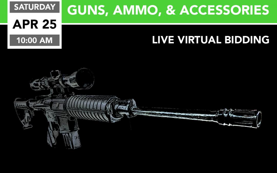 Guns, Ammo, & Accessories