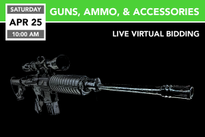 Guns, Ammo, & Accessories 4-25-2020
