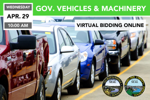 Government Vehicles, Machinery and Surplus 4/29/2020