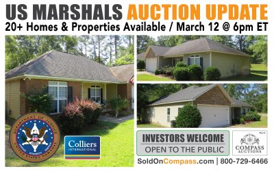 US Marshals Real Estate UPDATE: 20+ Properties Available Throughout the South / March 12