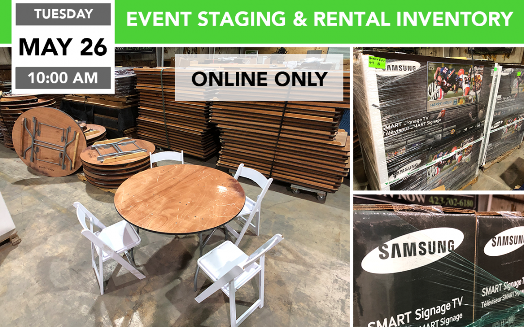 Event Staging and Rental Inventory