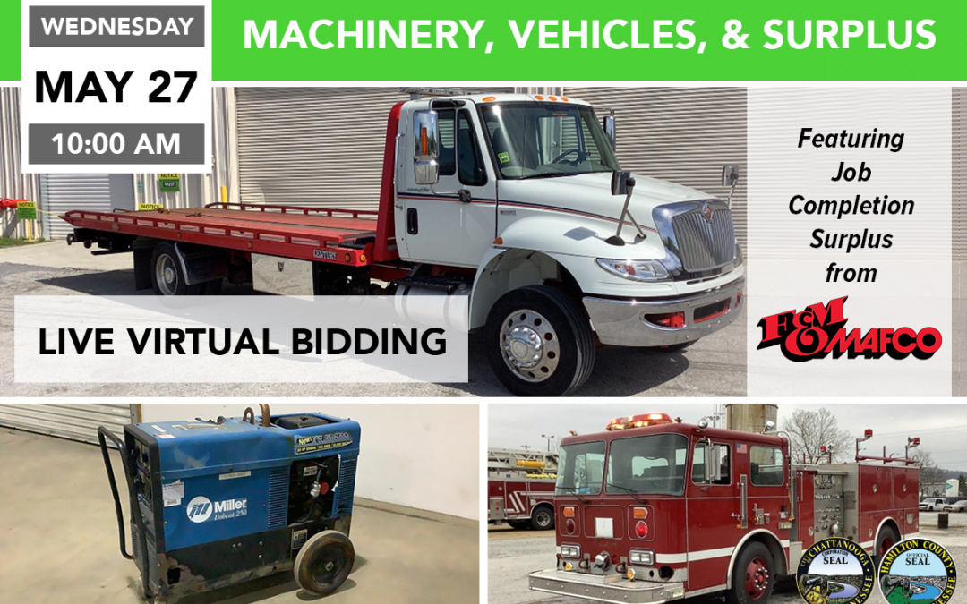 Machinery Vehicles & Surplus