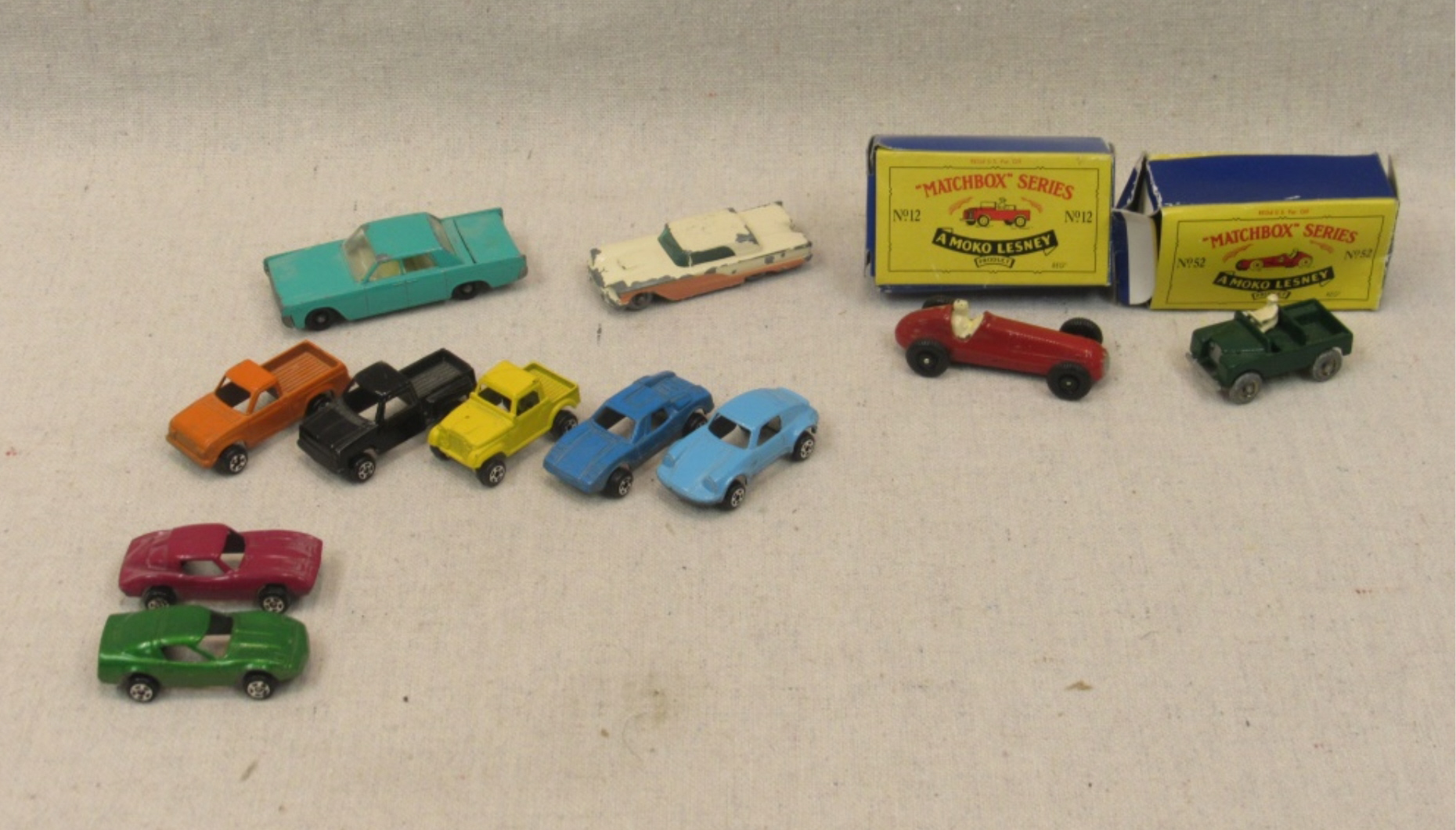 Antique Matchbox Cars