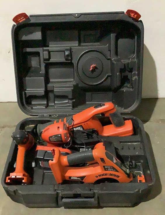 Black & Decker 18V Firestorm Tool Kit