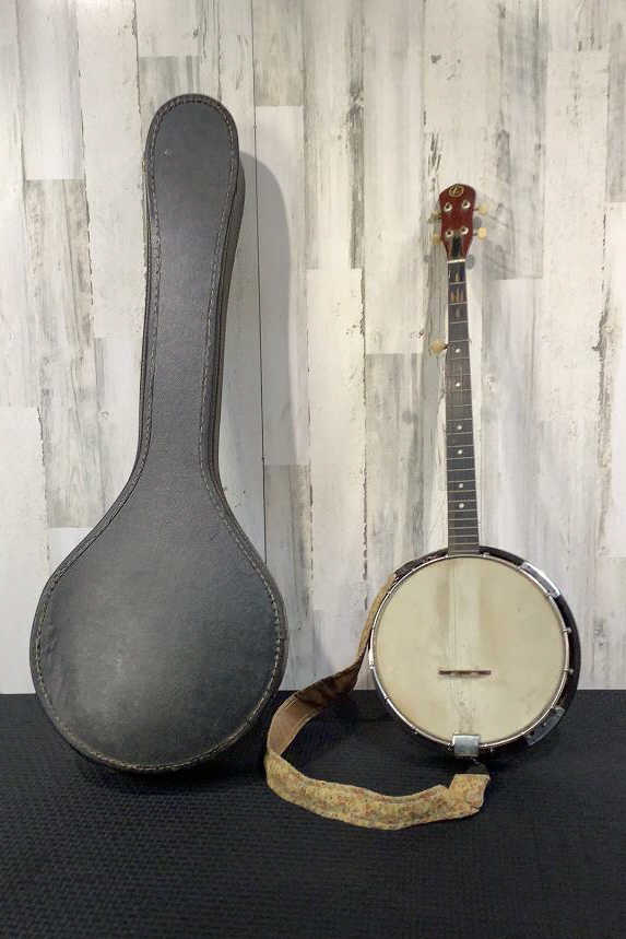 Kay Banjo w/ Leather Case
