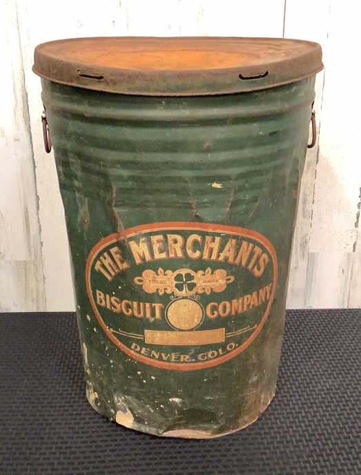 Antique Storage Container-