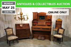 Antiques & Collectibles Auction 5-25-2020