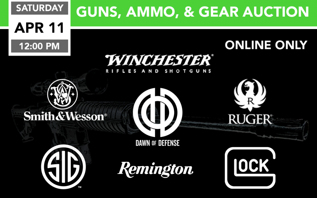Guns, Ammo, & Gear Auction