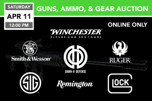 Guns, Ammo, & Gear Auction 4-11-2020