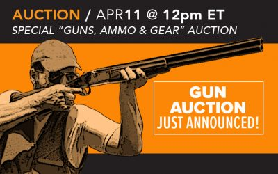 Additional Firearms Auction Just Announced…