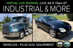 June 2020 public auction machinery vehicles municipal surplus live auction