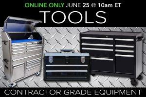 June 2020 contractor grade equipment tools public auction