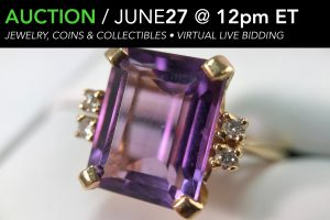 June 2020 Jewelry Coins Collectibles Gold Gems Luxury Watch auction