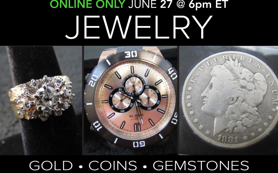 Jewelry, Coins and Collectibles
