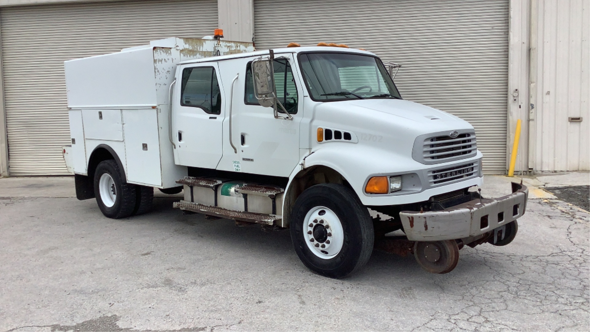 2007 Sterling Acterra Hi-Rail Service Truck 2WD