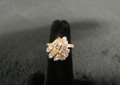 67-gold diamond cocktail ring