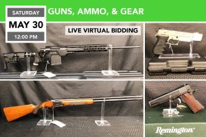 guns firearms ammo auction may 2020