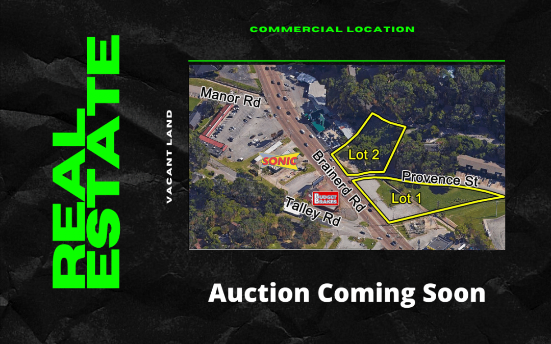 Commercial Real Estate Auction Coming Soon