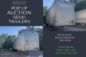 Great Dane Semi Trailer Auction