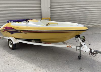 lot160a_SeaRayder Boat and trailer