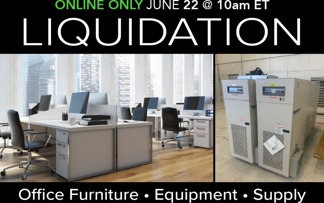 Warehouse 33 Liquidation Auction Office Furniture and Equipment