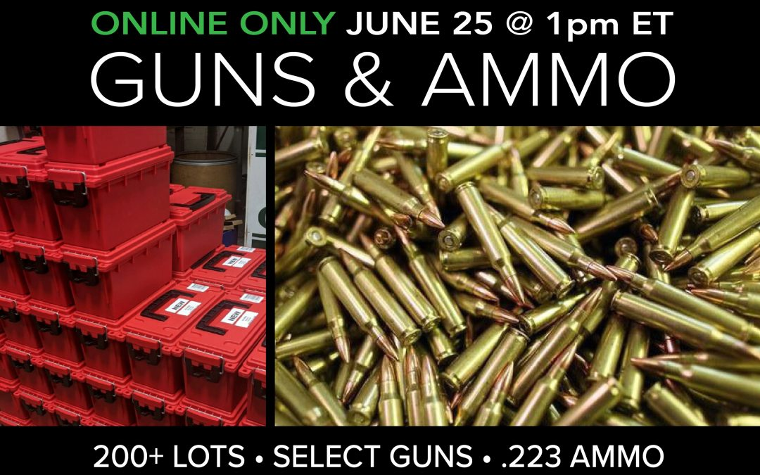 Firearms and Caseloads of .223 Ammo
