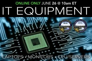 IT Equipment Municipal Surplus Auction