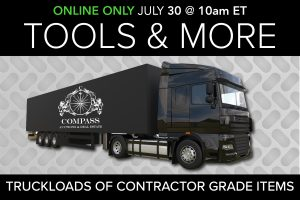 July 2020 Contractor Grade Tool Equipment Auction