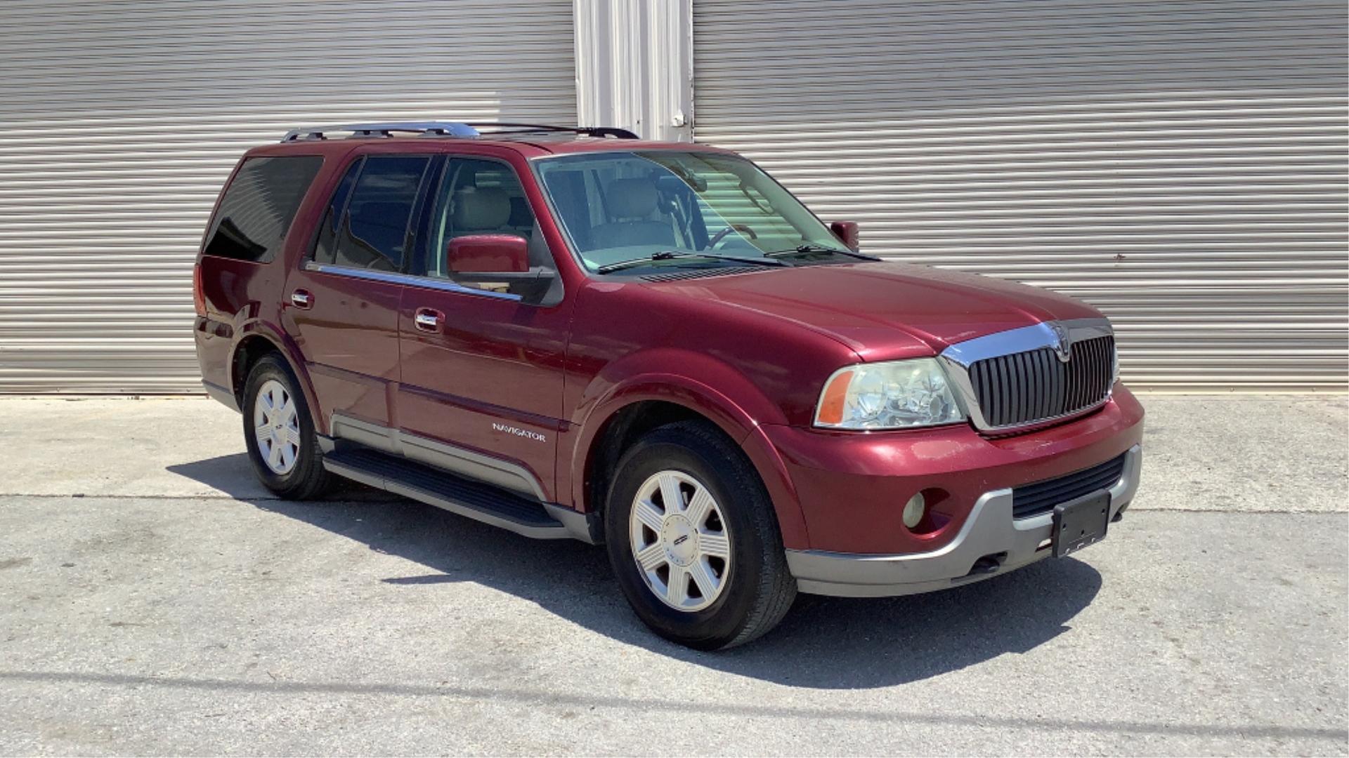 2004 Lincoln Navigator 4WD