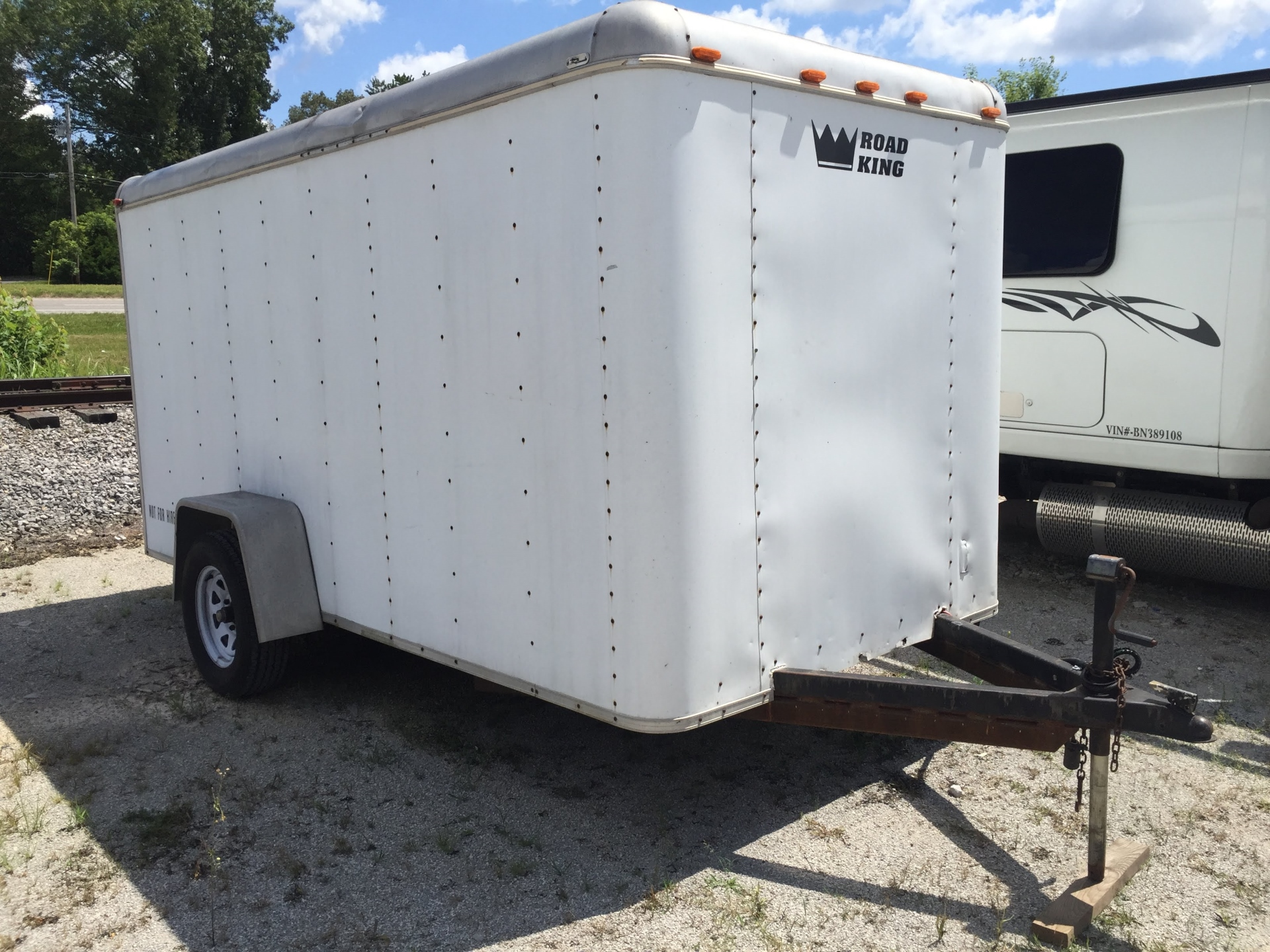 Road King 16' Enclosed Trailer
