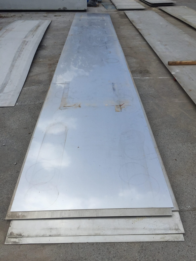 "Stainless Steel Metal 3/16"" x 60"" x 452"""