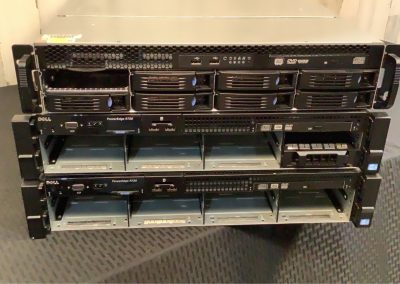 316-PowerEdges w DVR rack