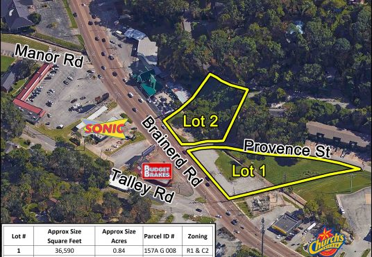 July real estate auction 3850 Brainerd Rd Chattanooga TN