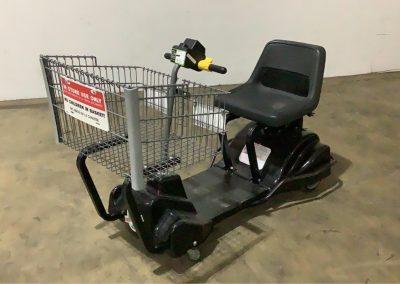 lot93_Motorized Shopping Cart