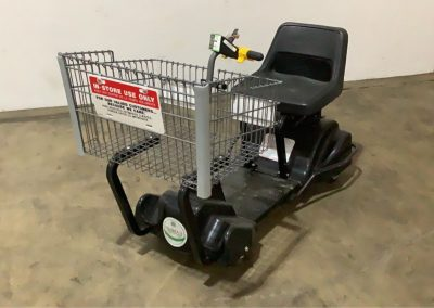 lot95_motorized shopping cart