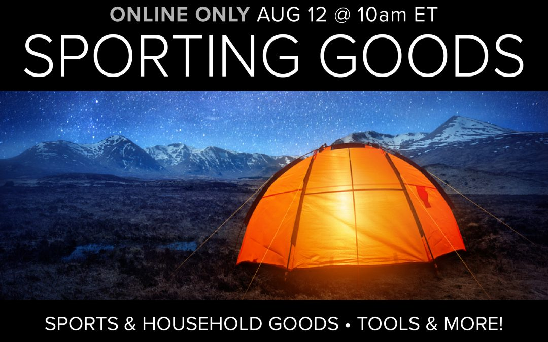 Sporting & Household Goods, Tools and More