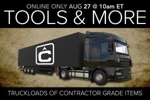 August 2020 Contractor Tools Equipment Auction