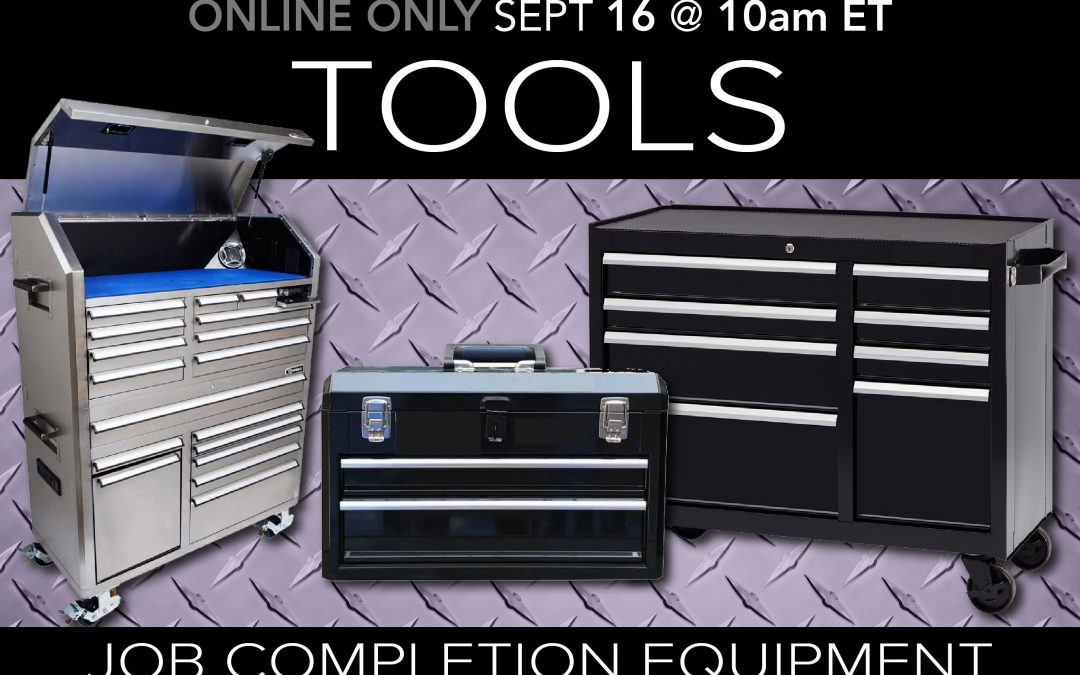 Job Completion Tools & Equipment