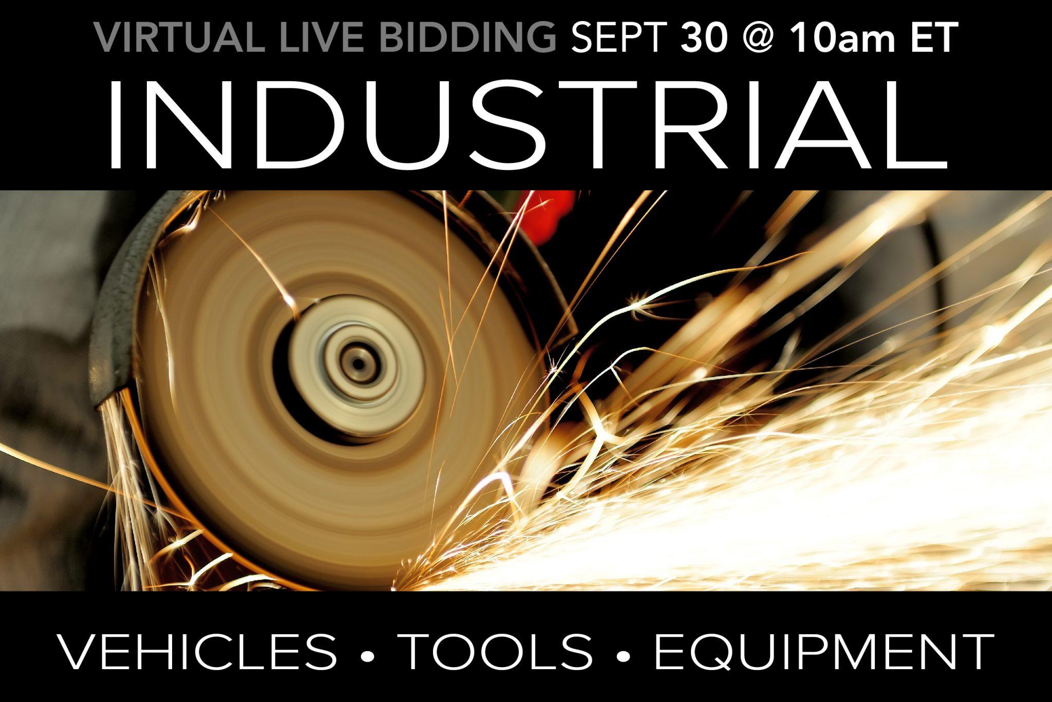 September 2020 Public Auction Machinery Vehicles Municipal Surplus Auction