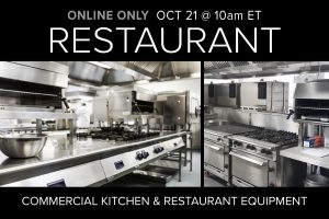October 2020 Restaurant Equipment Supply Auction Compass Auctions