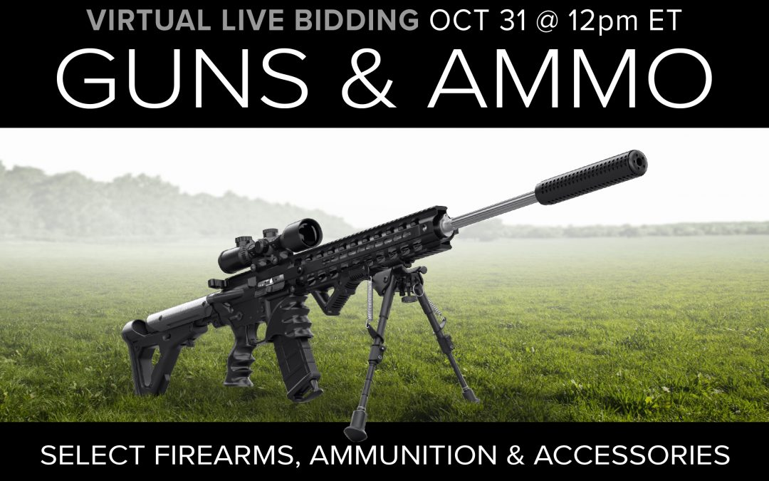 Guns Ammo and Gear Auction