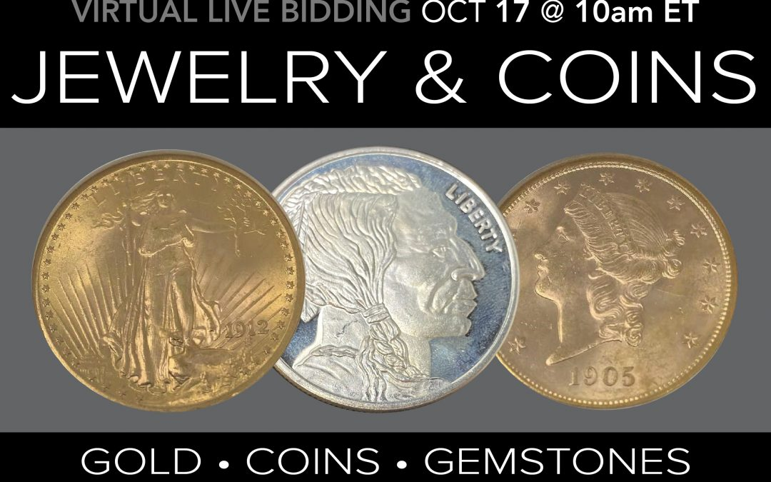 Jewelry Coins and Collectibles