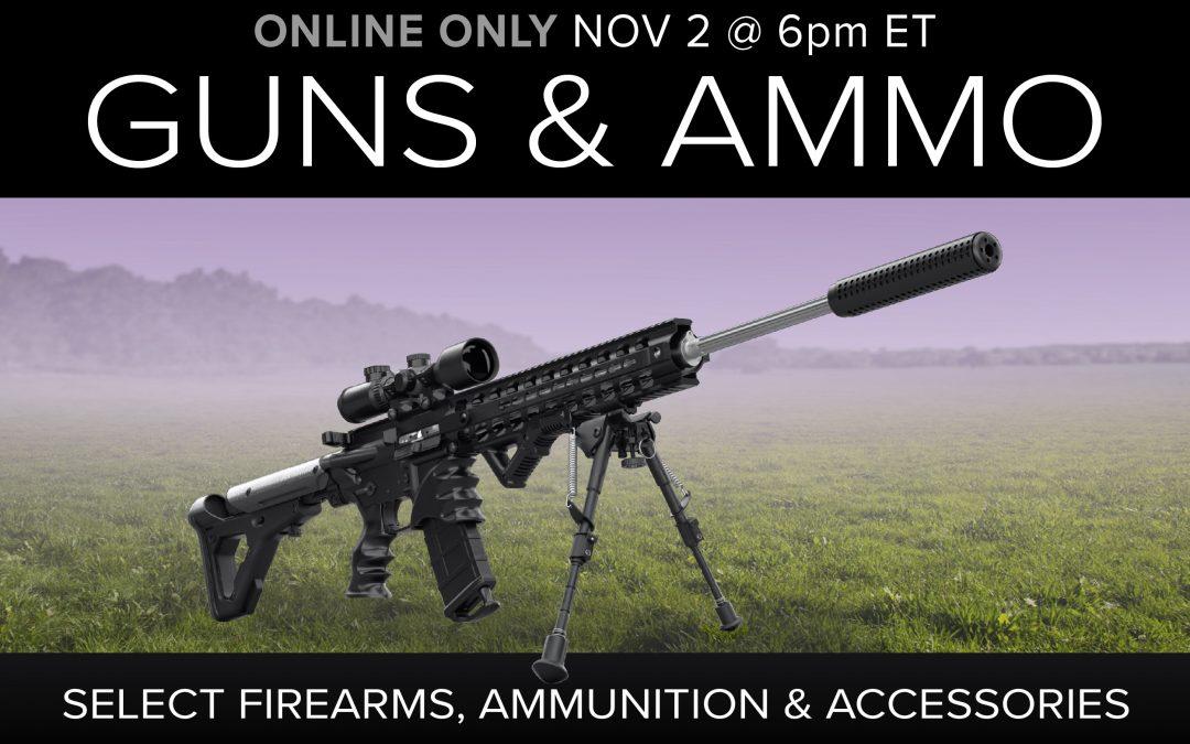 Guns, Ammo & Accessories
