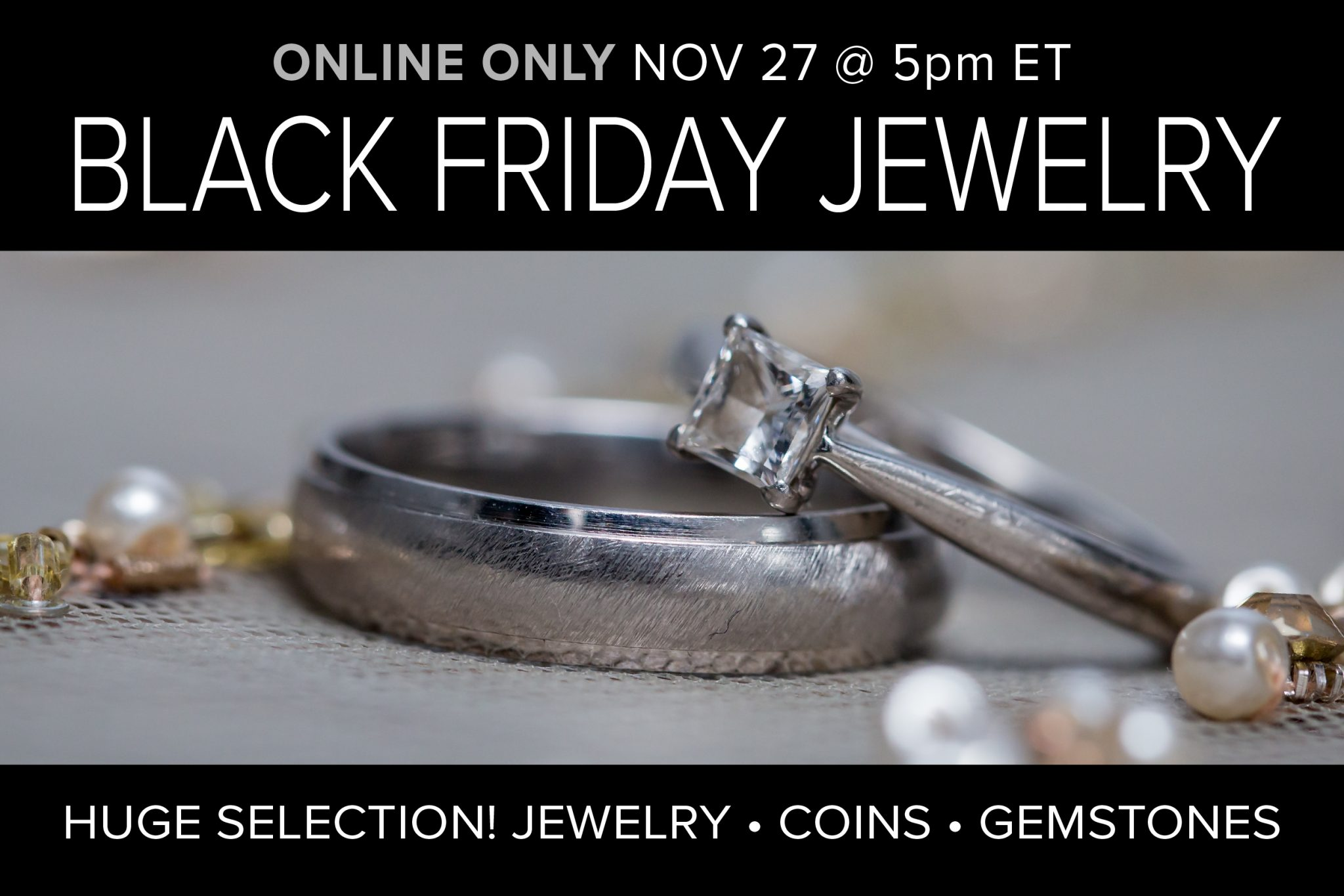 November 2020 Black Friday Jewelry Sale Auction