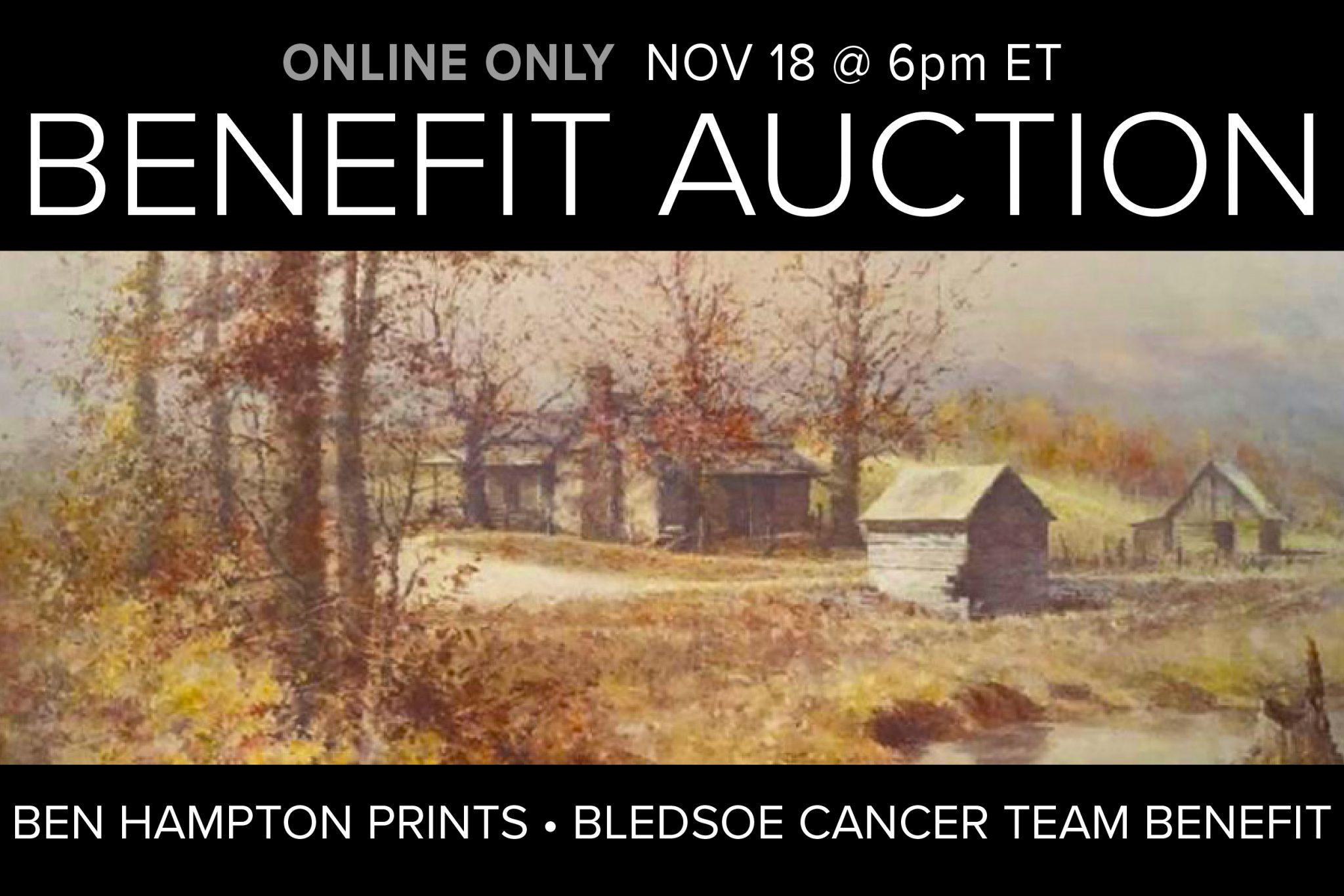 November 2020 Auction Ben Hampton Prints Fine Art