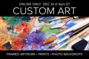 December 2020 Custom Art auction