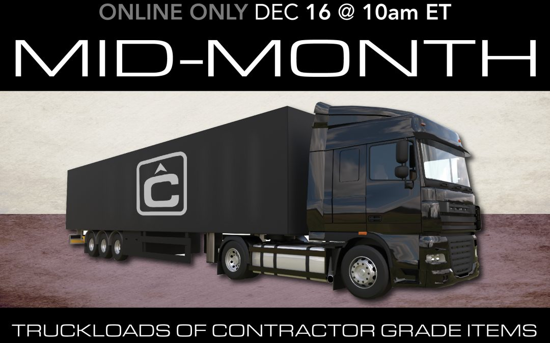 December Mid-Month Auction